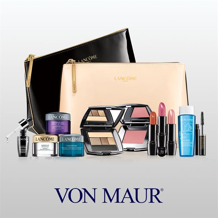 Von Maur: Lancome Gift with Purchase | Cedar Rapids, IA | Lindale Mall